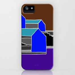 Black Stairs iPhone Case