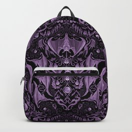 Bats and Beasts (Purple) Backpack