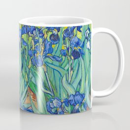 Vincent Van Gogh Irises Painting Coffee Mug