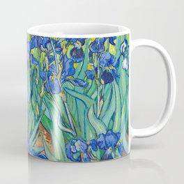 Vincent Van Gogh Irises Painting Coffee Mug