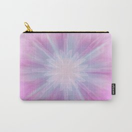 Pink Star Kaleidoscope Carry-All Pouch
