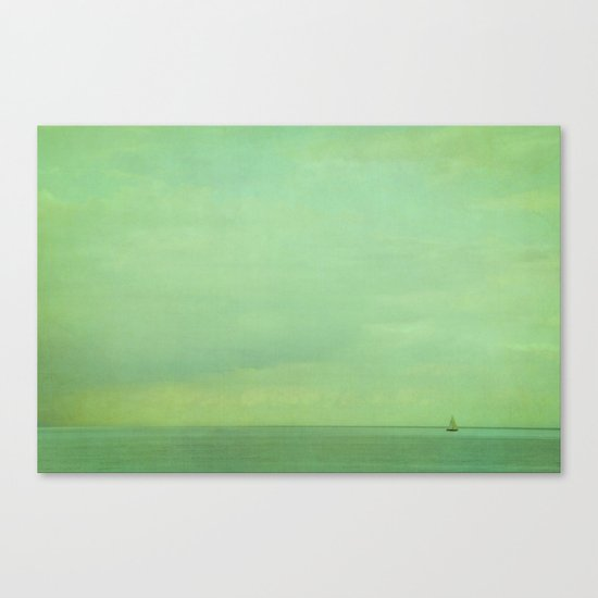 lost in green Canvas Print
