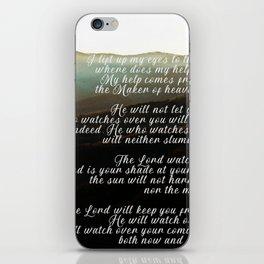 Psalm 121 iPhone Skin