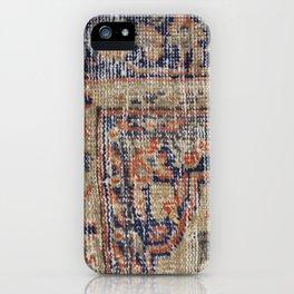 Vintage Woven Blue iPhone Case
