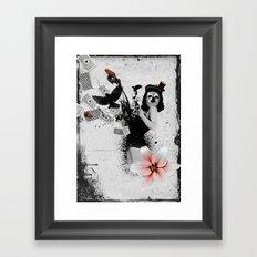 Lolly Crow Framed Art Print