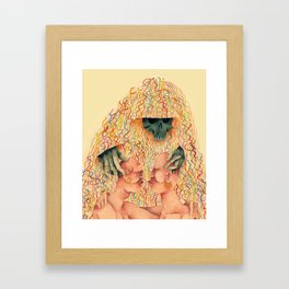 We Are Not a Cult Framed Art Print