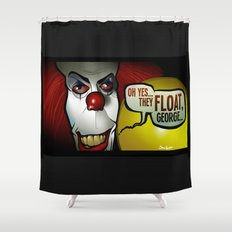 They Float, Georgie Shower Curtain
