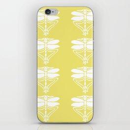 Honeysuckle Arts and Crafts Dragonflies iPhone Skin
