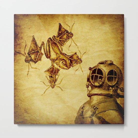 quatic species Metal Print
