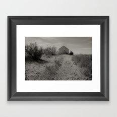 The house of Fear Framed Art Print