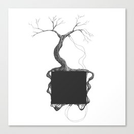 Artificial Tree N.31 Canvas Print