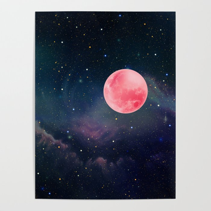 Pink Moon Poster