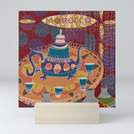 Moroccan Mint Tea Mini Art Print