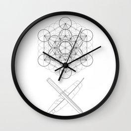 Body, Soul & Intellect Wall Clock