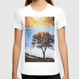 "Original Painting ""Foggy Sunrise"" T-shirt"