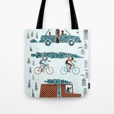 Tree Transportation Tote Bag