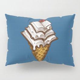 Ice Cream Books Pillow Sham