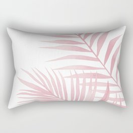 Pink leaves Rectangular Pillow