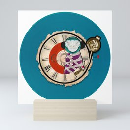 Time Monkey Mini Art Print
