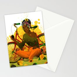 Essentia.Yellow Stationery Cards
