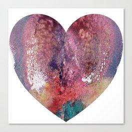 Remedy Sky's Heart Shaped Vulva Canvas Print