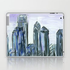 Gray Philadelphia Skyline Laptop & iPad Skin