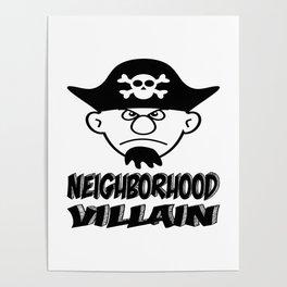 Neighborhood Villain Poster