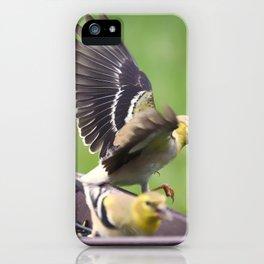 Goldfinch 3 iPhone Case