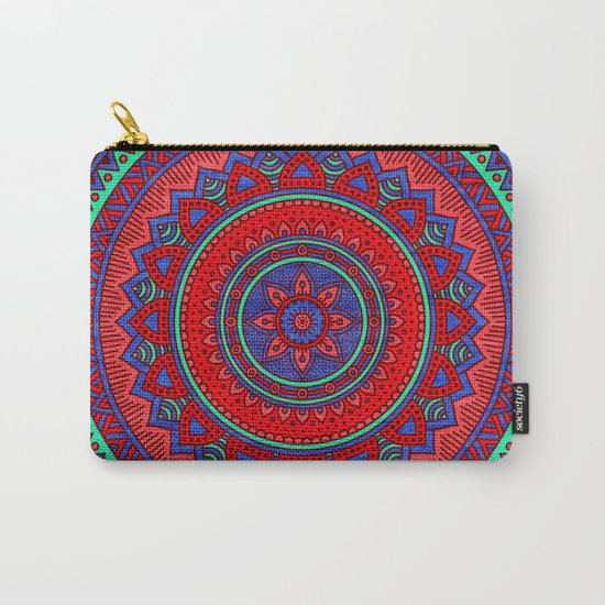 Hippie mandala 60 Carry-All Pouch
