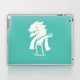 Be a cool wolf, man. Laptop & iPad Skin