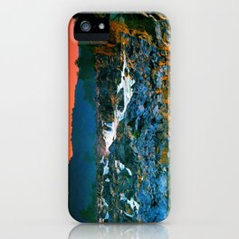 These are rock hard times iPhone Case