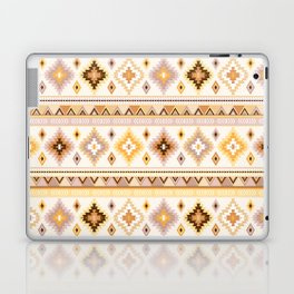 Kilim in mustard and sand Laptop & iPad Skin