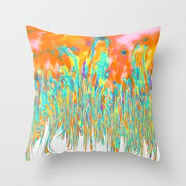 Melting I Throw Pillow