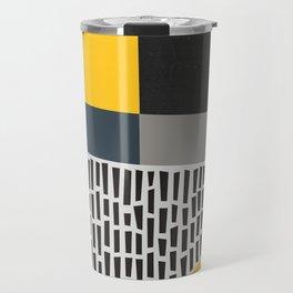 Umbrella Rain Abstract Travel Mug