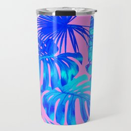 Banana Leaf Painting Travel Mug