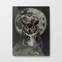 Of The Night Metal Print