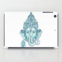 ganesha iPad Cases featuring Ganesha by Hipster's Wonderland