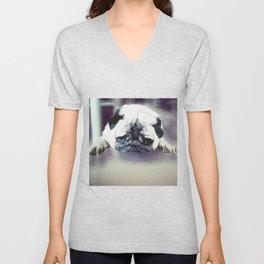 Pug Unisex V-Neck