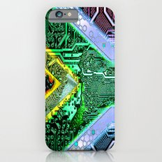 circuit board South Africa (Flag) Slim Case iPhone 6