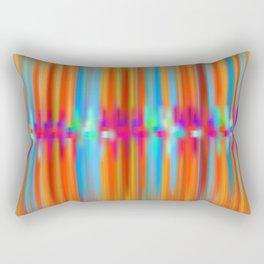 Seismic Shift Fiery Clouds Rectangular Pillow