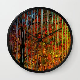 Crisp early October Wall Clock