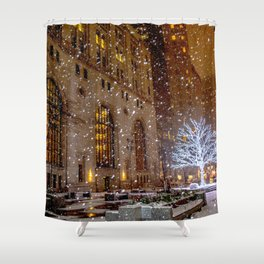 Christmas in Toronto Shower Curtain
