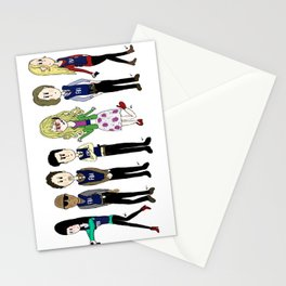 Criminal Minds BAU team Stationery Cards
