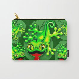 Gecko Lizard Baby Cartoon Carry-All Pouch