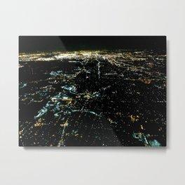 Night Lite Metal Print