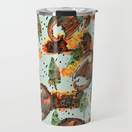 pyromaniac dragon Travel Mug