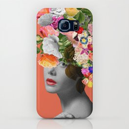 Orange Lady iPhone Case