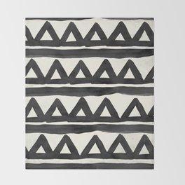 Chevron Tribal Throw Blanket