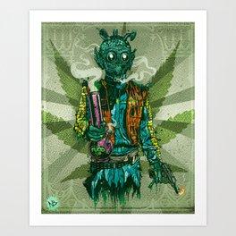 Weedo Art Print