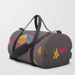 Love Pop Heart Duffle Bag